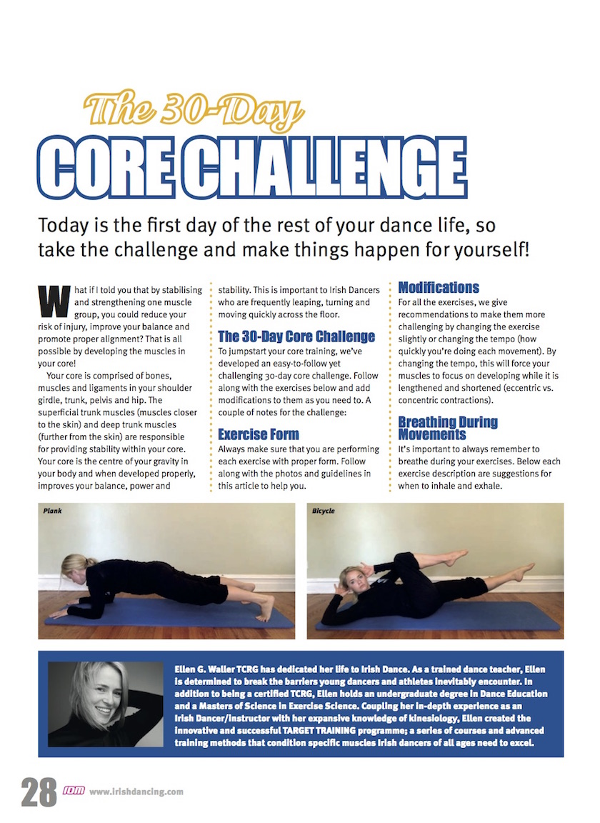The 30-Day Core Challenge
